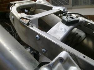 braced subframe on 950 Super Enduro